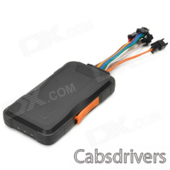 MT3326 GPS Anti-theft Vehicle Tracker for Car / Motorcycle - Black + Orange - 0