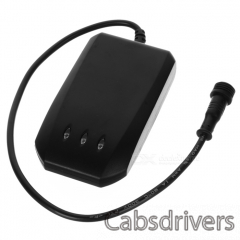 AT-12 GPS / Glonass / Galileo / Compass 850 / 900 / 1800 / 1900MHz Vehicle Tracker w/ SOS - Black - 0