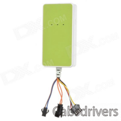 A18 Multifunctional GPS / GSM / GPRS Tracker for Cars + More - Green - 0