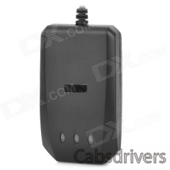 TLT-2H GPS / GSM / GPRS / SMS Vehicle Tracker for Motorcycle / Car - Black - 0