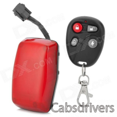GPS304-B Convenient Water Resistant GSM / GPRS / GPS Tracker for Motorcycle / Scooter - Red - 0