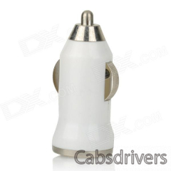 Car Charger + Spring Micro USB Data Cable for Samsung Galaxy S4 / Note 2 (12/24V) - 0